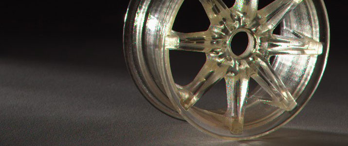 3D-Drucken - Stereolithographie STL wheel